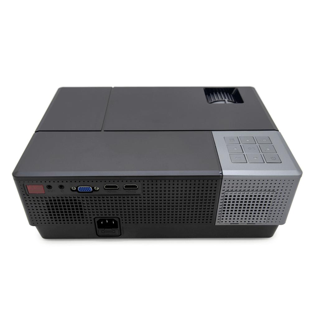 Мини проектор Excelvan CL770 (черный) - 4